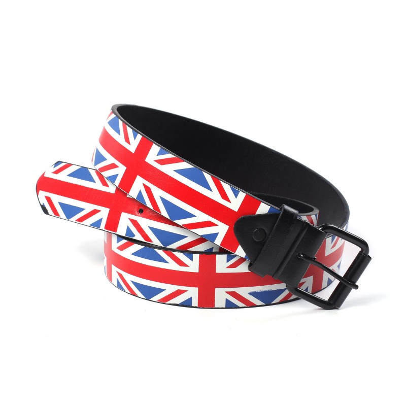 New Union Jack / Great Britain Flag Unisex Belt 39