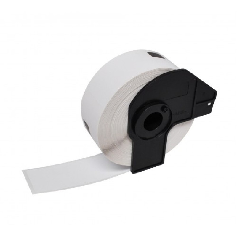 Compatible Brother White Address Labels DK-11218 24mm Round (Pack Of 100)