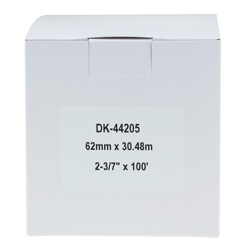 Compatible Brother White Address Labels DK-44205 62mm x 30.48m (Pack Of 50)