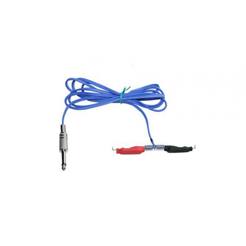 Royal Blue Silicone Tattoo Clip Cord For Power Supply Gun 1.9M