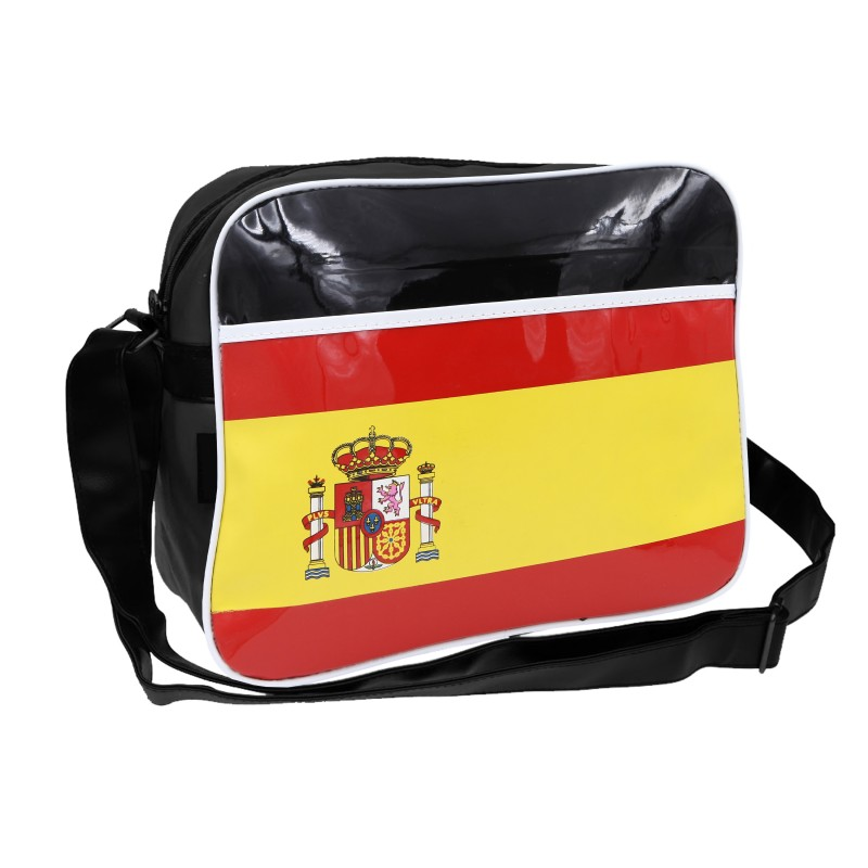 Country Flags Postman School Laptop Carry Shoulder Bag Spain