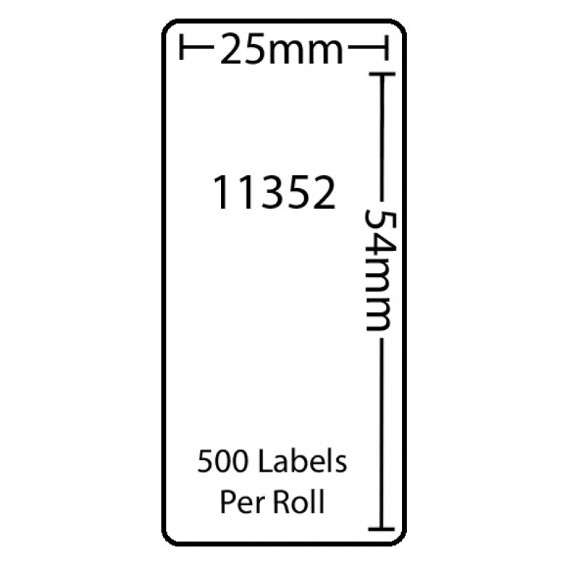 Dymo 11352 Compatible Thermal White Address Labels (Pack of 1)