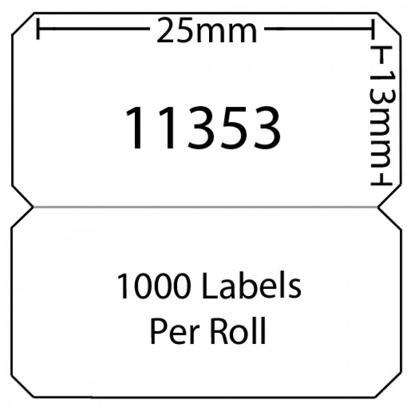 Dymo 11353 Compatible Thermal White Address Labels (Pack of 50)