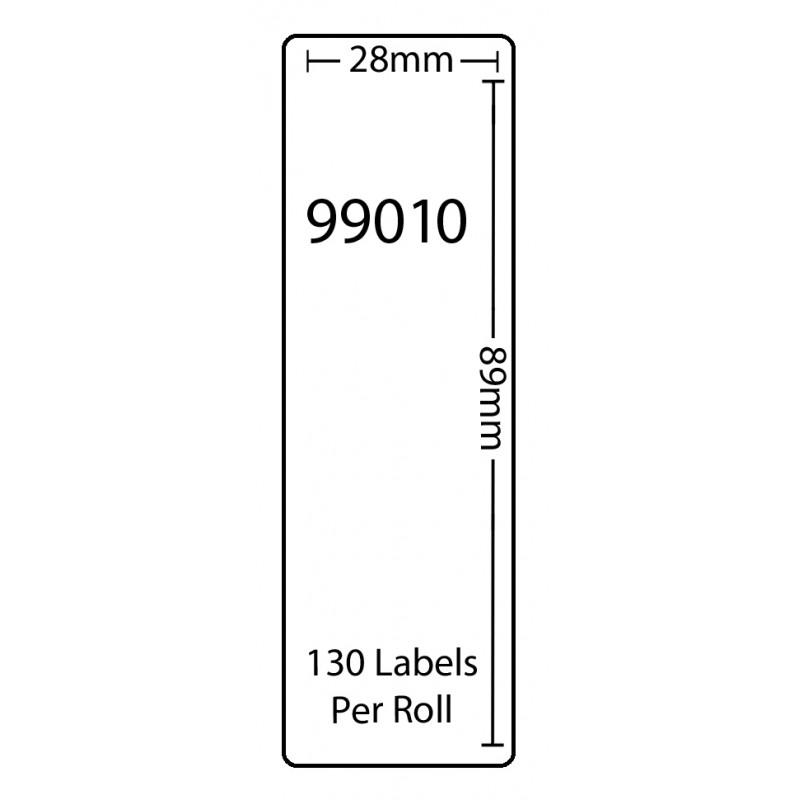 Dymo 99010 Compatible Thermal White Address Labels (Pack of 100)