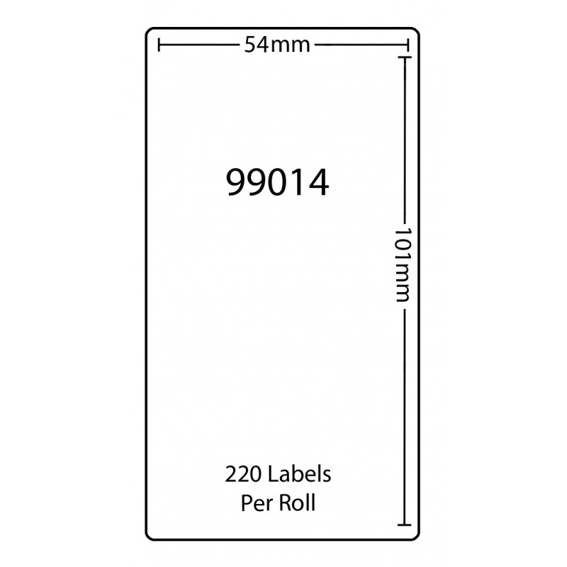 Dymo 99014 Compatible Thermal White Address Labels (Pack of 1)