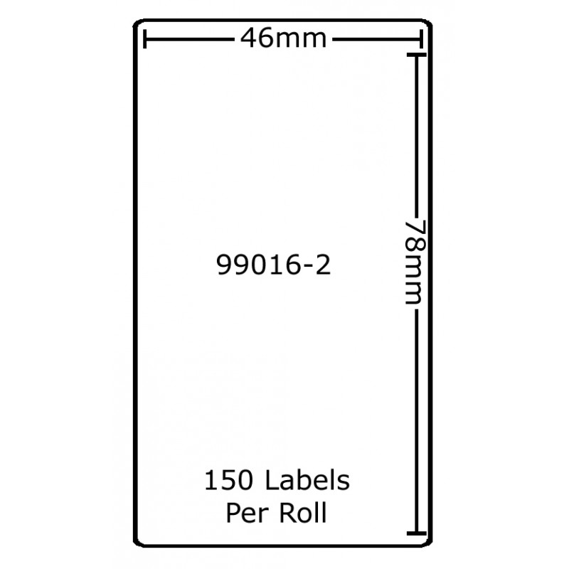 Dymo 99016-2 Compatible Thermal White Address Labels (Pack of 5)