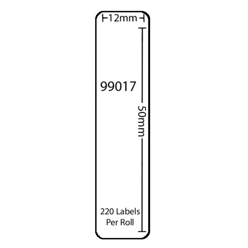 Dymo 99017 Compatible Thermal White Address Labels (Pack of 1)