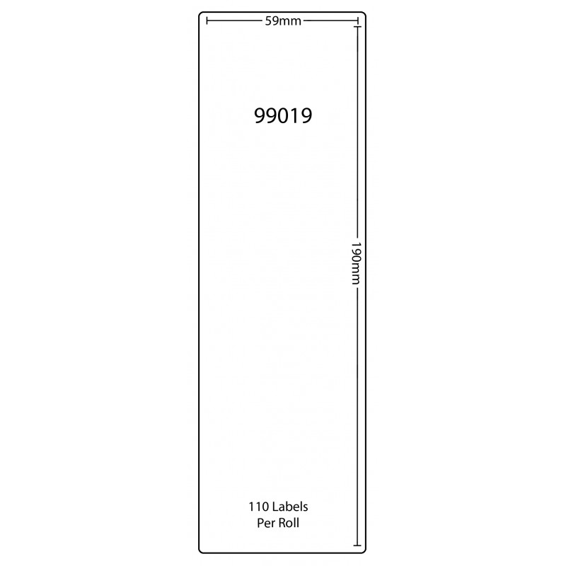 Dymo 99019 Compatible Thermal White Address Labels (Pack of 20)