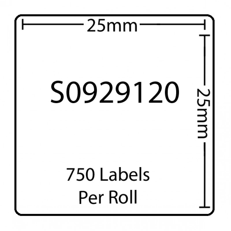Dymo SO929120 Compatible Thermal White Address Labels (Pack of 100)