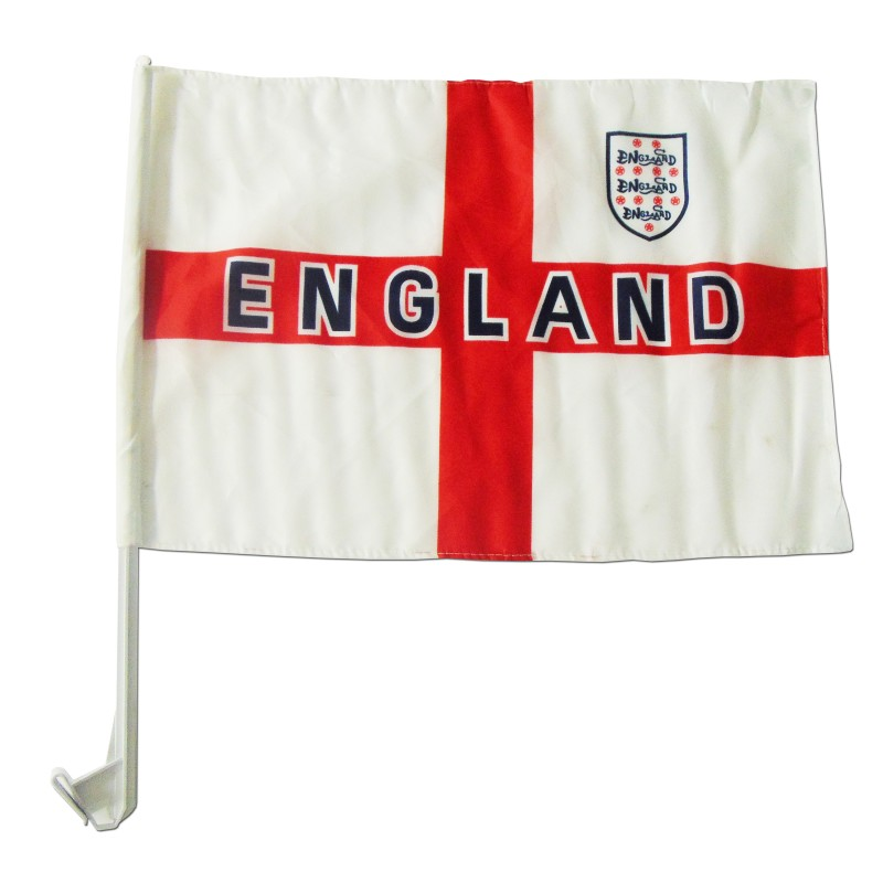 England St George Cross Car Flags (Pack of 10)