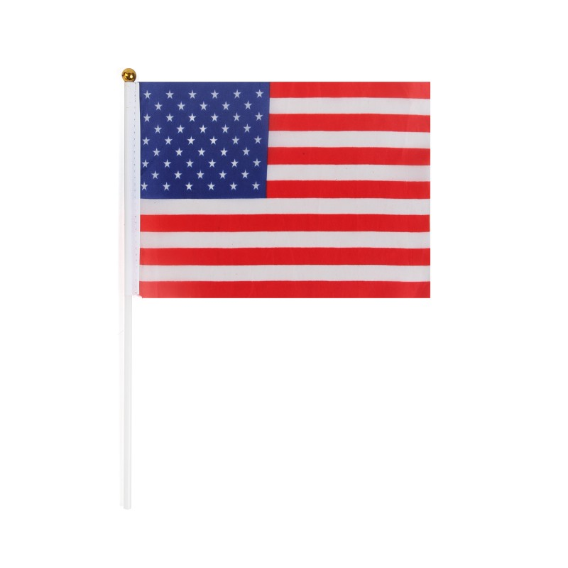 Handheld Desktop Country Flags USA (Pack of 1)