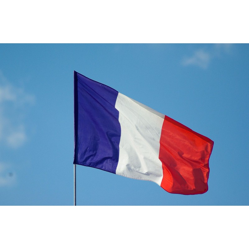 Large France French National Flag (90cm x 150cm)