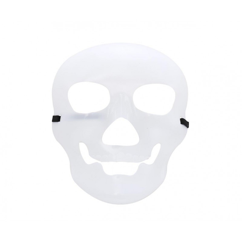 Clear Skull Costume Halloween Mask (HM13)
