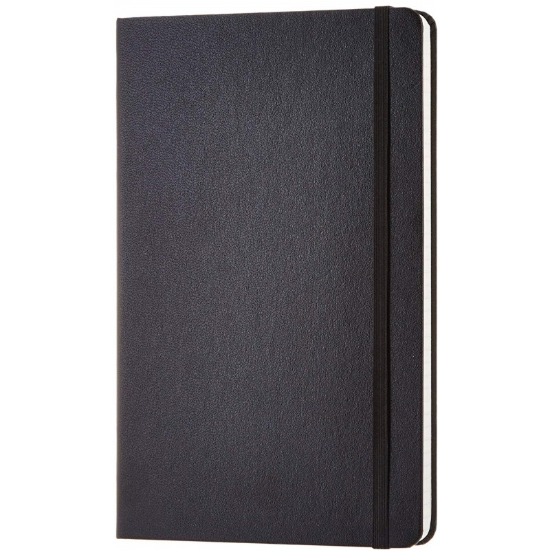 Executive Soft Feel Pocket Notebook Black A6 (Pack Of 5)