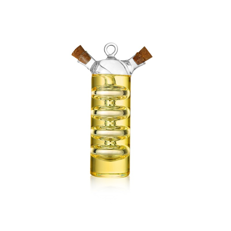 Olive Oil and Vinegar Dual Glass Dispenser Bottle (VB9)