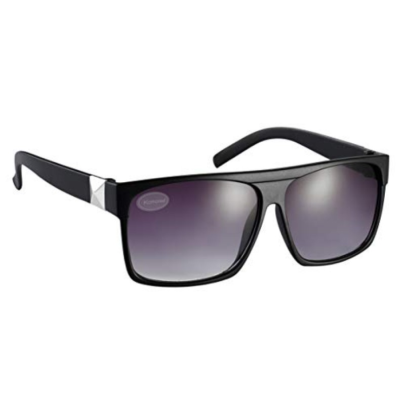 Black Drifter Designer Unisex Sunglasses UV400 Protection Shades (Pack of 5) (SG-117)