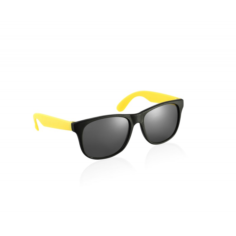 Black and Yellow Drifter Style Sunglasses UV400 Protection Unisex