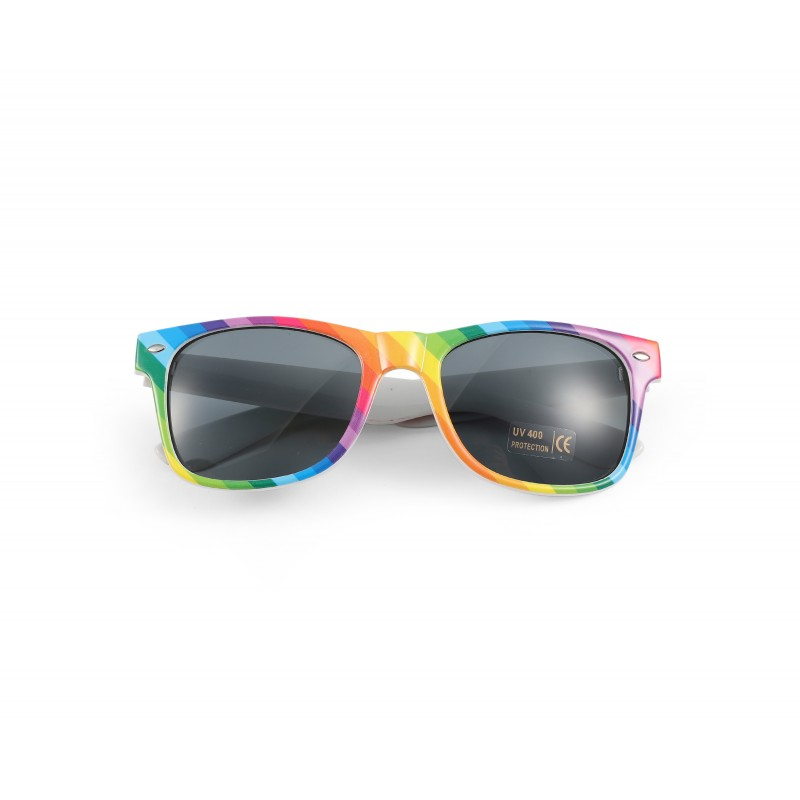 Colourful Gay Pride Drifter Rainbow Style Sunglasses (WSPSG2)