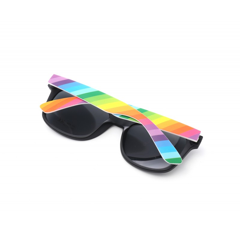 Colourful Gay Pride Drifter Rainbow Style Sunglasses (WSPSG4)