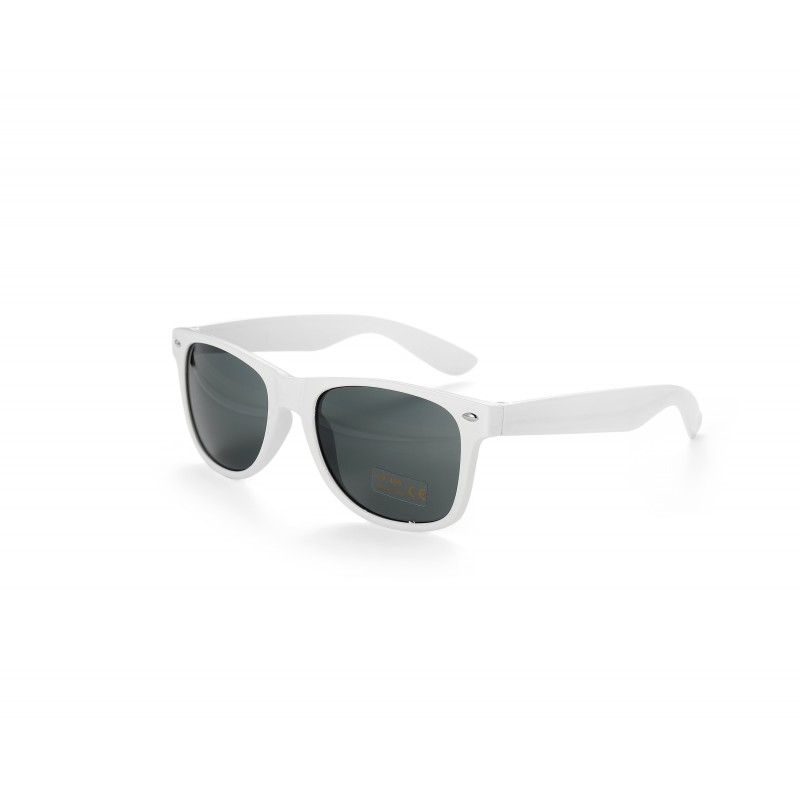 White Drifter Style Sunglasses UV400 Protection Unisex