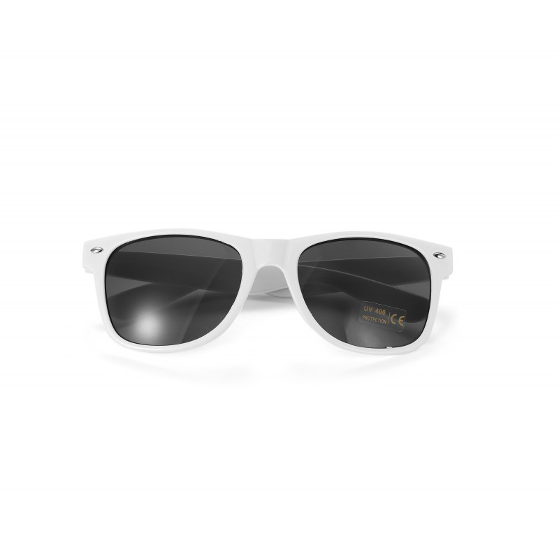 White Drifter Style Sunglasses UV400 Protection Unisex (Pack of 5)