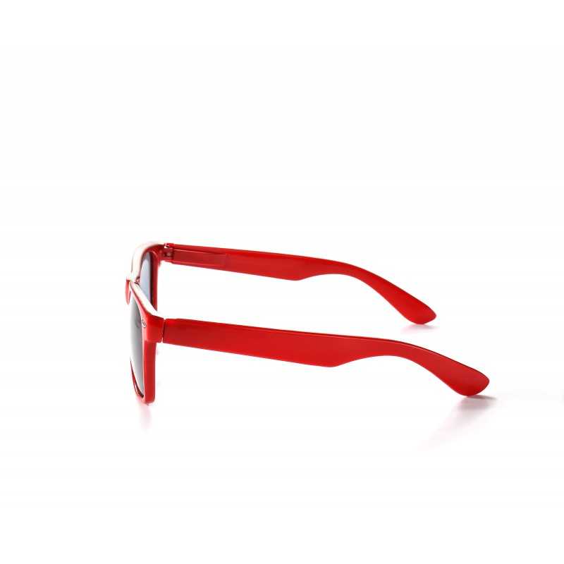 Red Drifter Style Sunglasses UV400 Protection Unisex (Pack of 3)