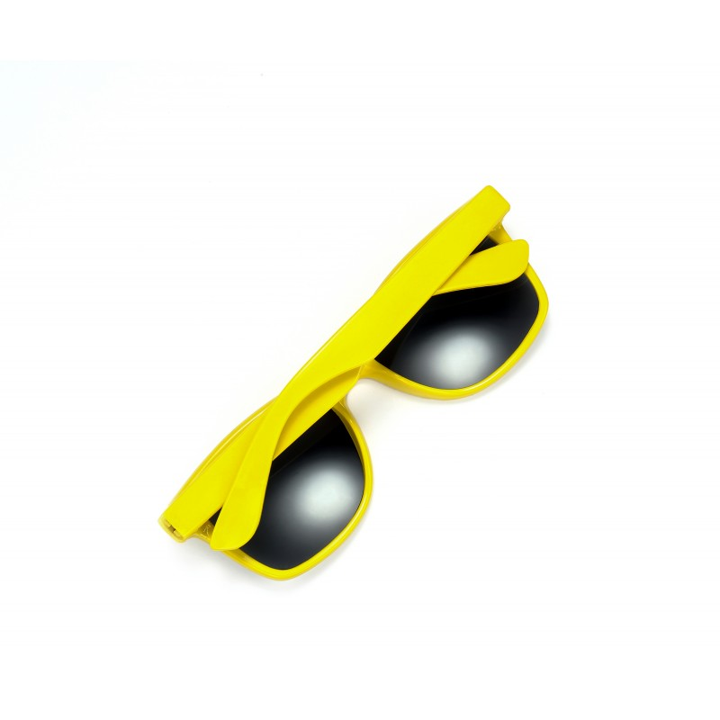Underground Kulture Yellow Drifter Style Sunglasses UV400 Protection Unisex (Pack of 3)