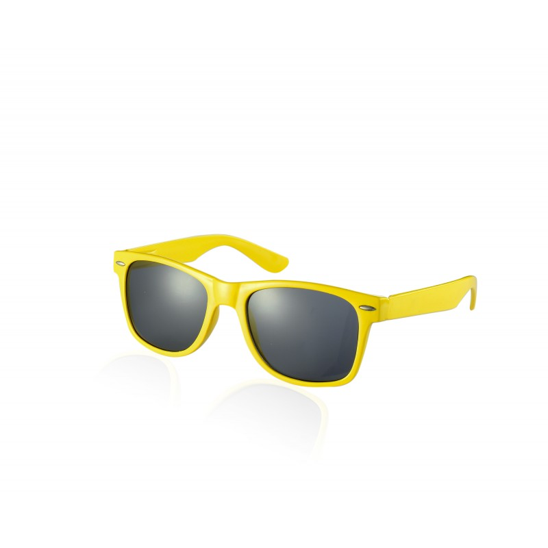 Underground Kulture Yellow Drifter Style Sunglasses UV400 Protection Unisex (Pack of 5)