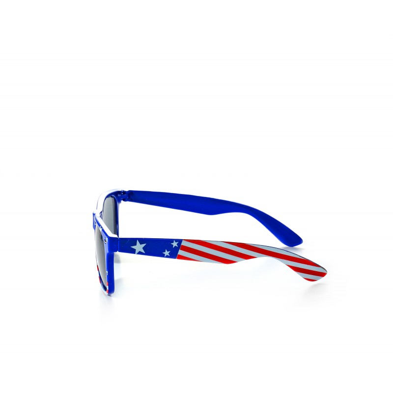 USA Flag Drifter Blue Style Sunglasses UV400 Protection Unisex (Pack of 10)