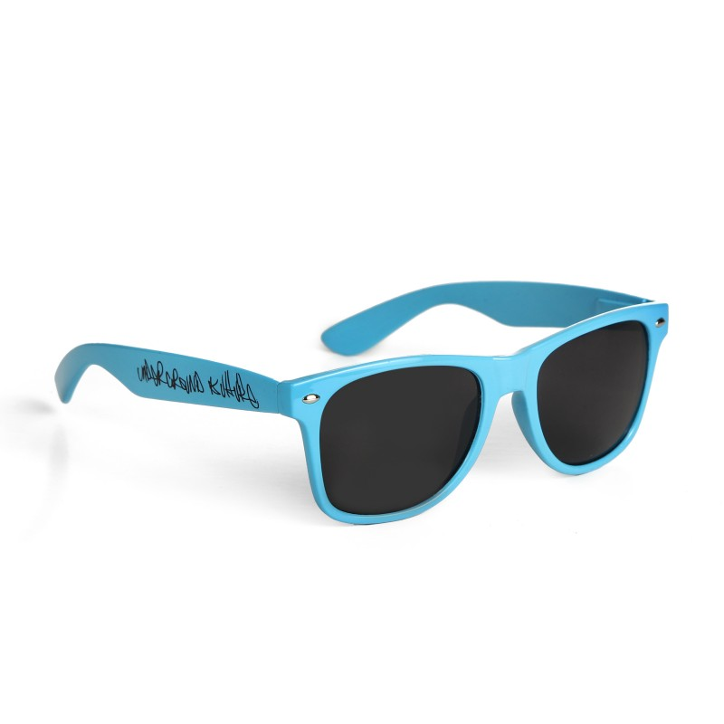 Underground Kulture Blue Drifter Style Sunglasses UV400 Protection Unisex (Pack of 10)