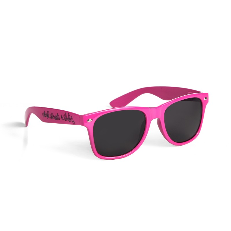 Underground Kulture Pink Drifter Style Sunglasses UV400 Protection Unisex (Pack of 5)