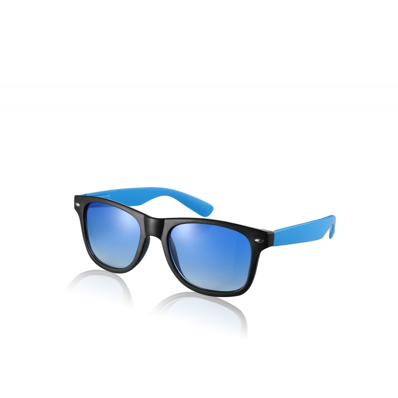 Black and Blue Tint Drifter Style Sunglasses UV400 Protection Unisex (SG-122)