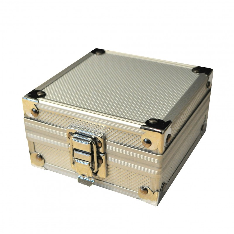 Tattoo Machine Gun Padded Aluminium Display Carry Case Box