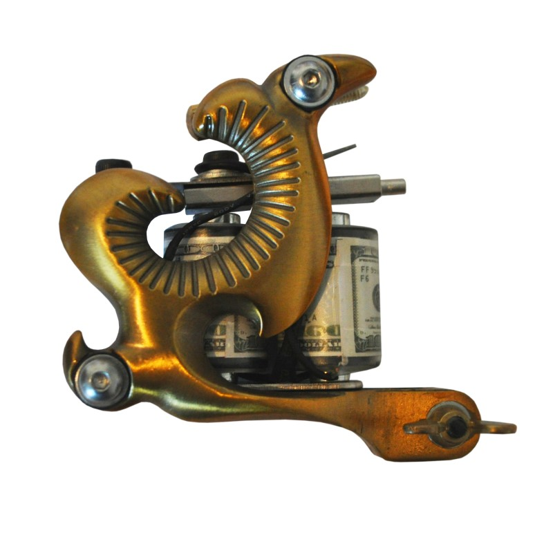 Gold Serpent Professional Tattoo Machine Gun