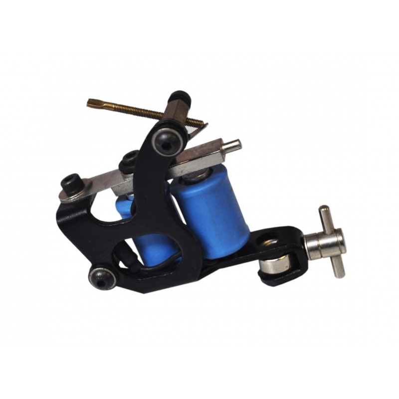 Professional Tattoo Gun Machine Black And Blue Design
