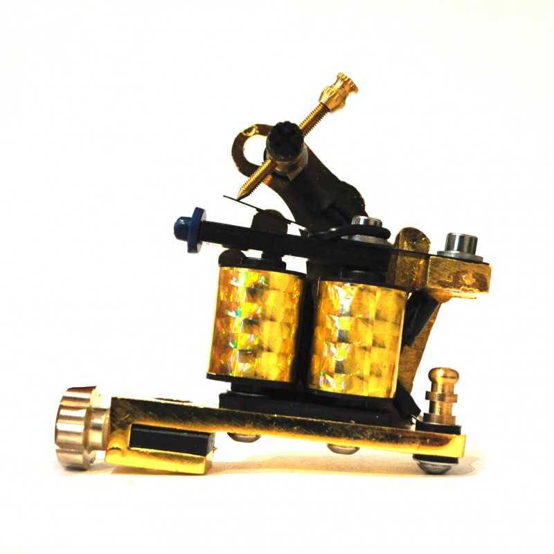 Gold Crown Pro Tattoo Machine Gun Liner Shader