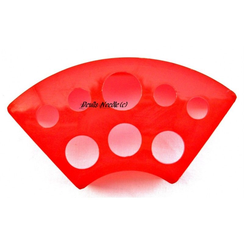 Red Plastic Tattoo Ink Cup Holder