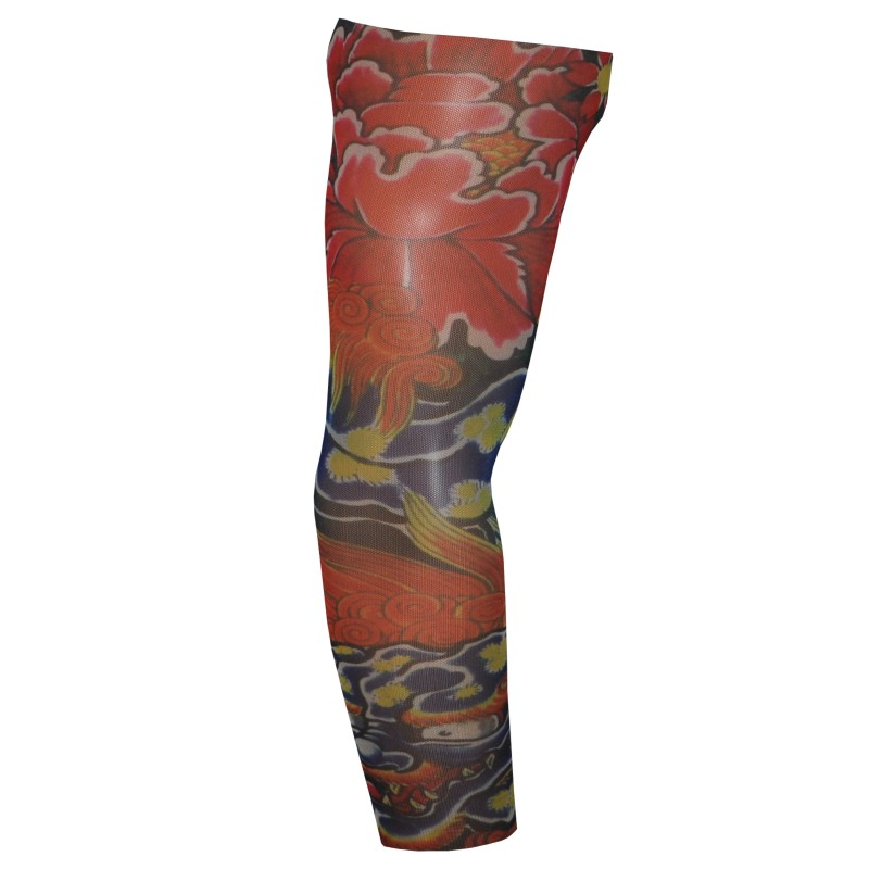 Fake Tattoo Arm Sleeve Blue Dragon (T104)