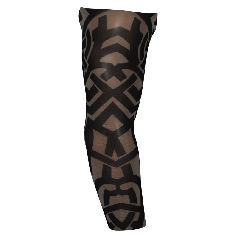 Fake Tattoo Arm Sleeve Tribal Lock Style T16