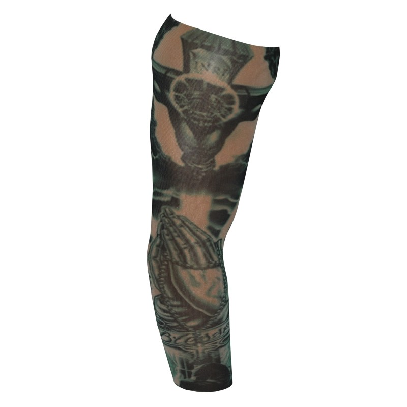 Fake Tattoo Arm Sleeve Blessed Design (T24)