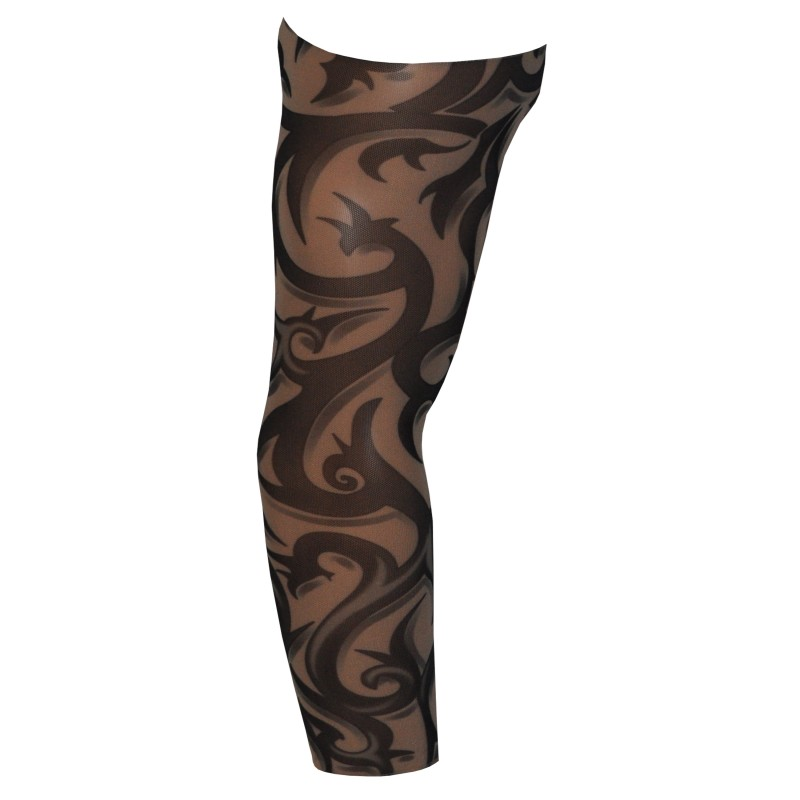 Fake Tattoo Arm Sleeve Barbed Wire Tribal Design (T51)