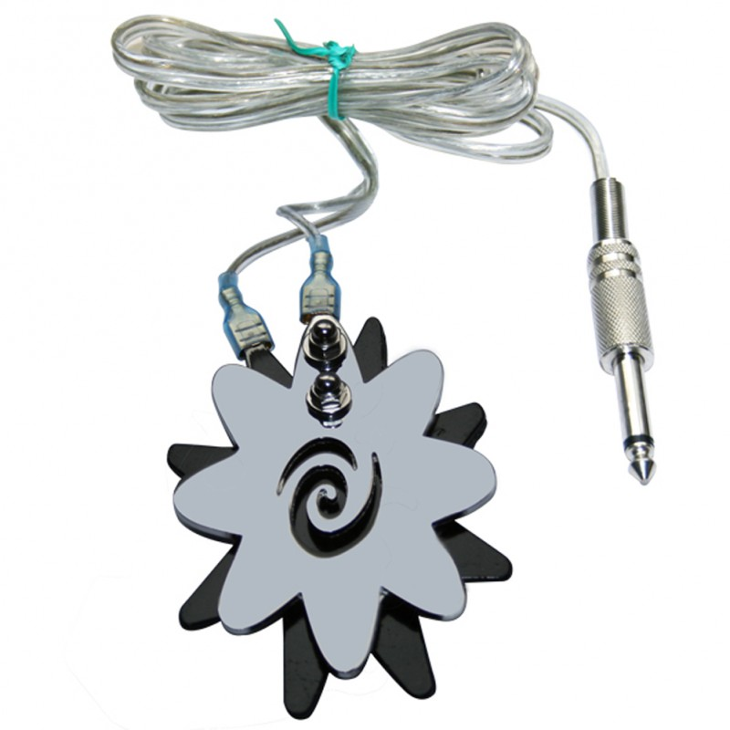 Flower Tattoo Foot Pedal Switch For Power Supply