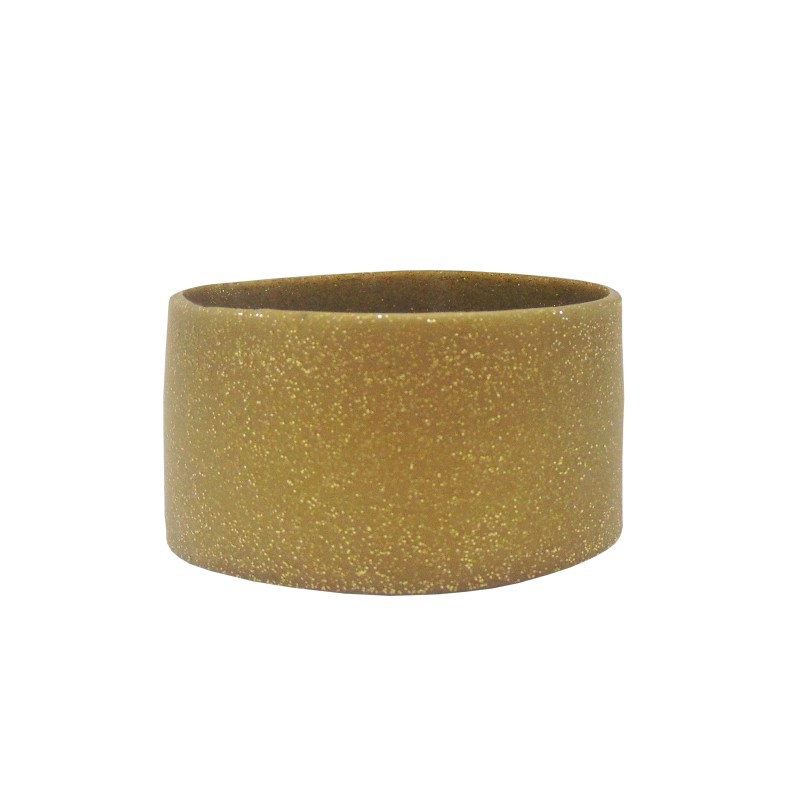 Glittery Gold Large Silicone Wristband (Pack of 1)