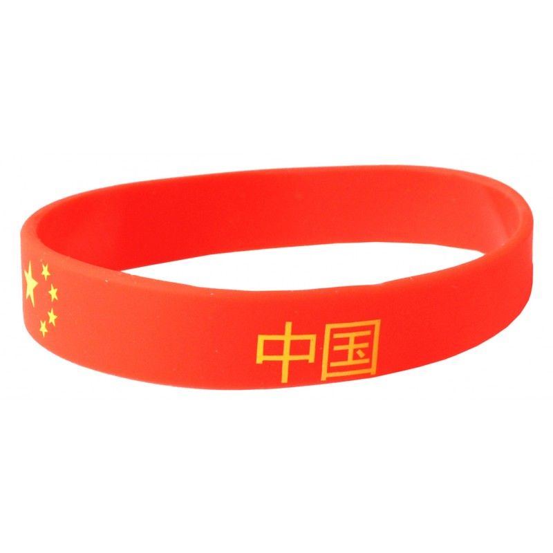 Netherlands Orange World Cup Olympics Silicone Wristband (Pack of 1)