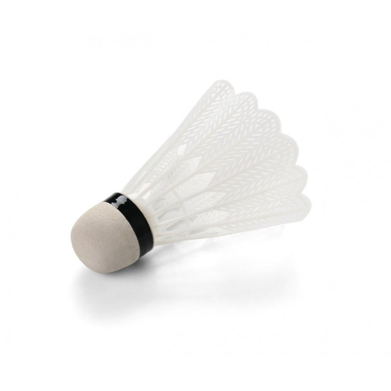 White Shuttlecocks for Outdoor and Indoor Badminton (Pack Of 100)